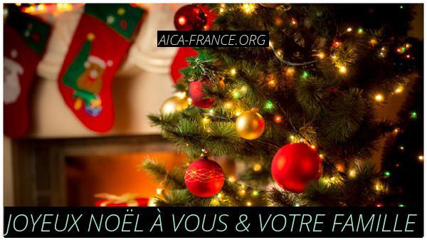 Joyeux Noël à vous & votre famille